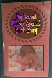 The Tale of the birth of my second-born.  I had Velamentous Cord Insertion and was induced at 39 weeks.