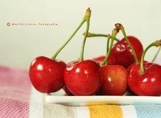 delicious cherries.