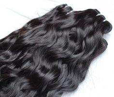 Natural Waves Hair, Natural Hair Styles, Long Hair Styles, Sew In Hairstyles, Elegant Hairstyles, Magic Hair, Hair Shop, One Hair, Wig Making