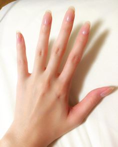 Nails French Almond Summer nail designs can boost your mood instantly. Just check them out and you'll agree! Every time you'll look at this bright and interesting manicure, you'll definitely smile. And if you are cu French Nails, Ongles Gel French, French Acrylics, French Pedicure, Toe Nails, Coffin Nails, Acrylic Nails, Long Natural Nails, Natural Manicure