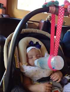Baby Bottle Holder by MinnyCat on Etsy