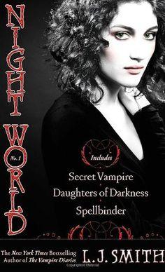 Night World No. 1: Secret Vampire; Daughters of Darkness; Spellbinder by L.J. Smith, http://www.amazon.com/dp/1416974504/ref=cm_sw_r_pi_dp_JwzPqb04XBA3C