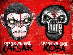 Team Caesar or Team Koba? by Luke Flowers