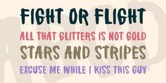 Brake a leg! Fight Or Flight, Fonts, Commercial, Designer Fonts, Types Of Font Styles, Script Fonts, Wedding Fonts, Letters