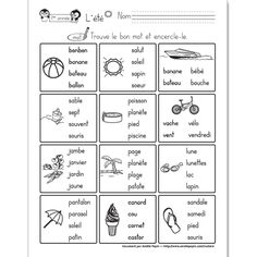 Great site with lots of free ideas for preschool and early elementary French Flashcards, French Worksheets, Learning French For Kids, Teaching French, French Language Lessons, French Lessons, Amelie Pepin, Core French, French Classroom