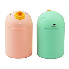 Amazon.com: Portable Ultrasonic Humidifier, BestFire Cute Cartoon Bird Bottle Shaped 180ml USB Air Mist USB Humidifier Perfect for Office Desktop (Green): Home & Kitchen