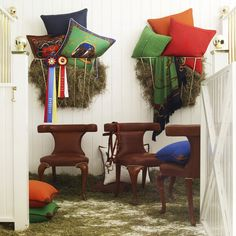 Modern Equestrian Dining Chair - Dining Chairs - Furniture - Products - Ralph Lauren Home - RalphLaurenHome.com