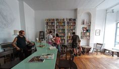 Molasses Books in New York Lets You Trade Books For Beer #bookstores trendhunter.com