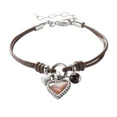 Charming Heart Bracelet JF85718 | FOSSIL® UK