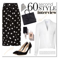 """Interview"" by susy-v ❤ liked on Polyvore featuring Glamorous, Native Union, Andrea Marques, Jimmy Choo, Yves Saint Laurent, jobinterview, 60secondstyle and susyset"