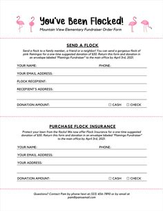 Plastic Flamingos, Pink Flamingos, Fundraising Ideas, Cheer Fundraiser Ideas, Church Fundraisers, Envelope Labels, School Themes, Fun At Work, How To Raise Money
