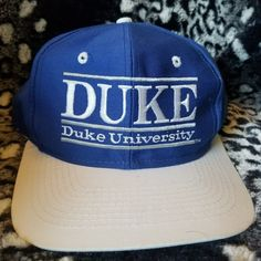 6b1d50e2ee0 Dm with any questions This is a 1984 Duke University Snapback in excellent  condition. #. Depop