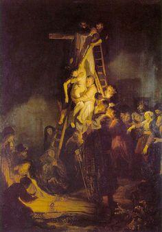 Rembrandt - La descente de la croix