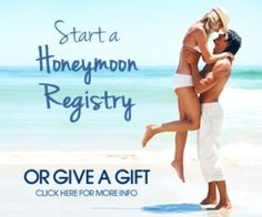 Honeymoon Registry - When only the best honeymoon gift registry for your wedding will do. Free set up, collect gifts anytime, best customer service and used by more hotels and resorts than any other honeymoon registry. Honeymoon Registry, Best Honeymoon, Honeymoon Destinations, Gift Registry, Paradise Travel, Wedding Honeymoons, Destin Beach, Travel Tours, Travel Agency