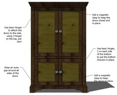 Beau Ana White | Build A Simplest Armoire | Free And Easy DIY Project And  Furniture Plans | Closet | Pinterest | Ana White, Easy Diy Projects And  Furniture Plans