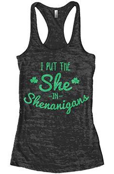 Threadrock Women's I Put the She in Shenanigans Burnout R... https://www.amazon.com/dp/B01C657I1U/ref=cm_sw_r_pi_dp_x_Z41Myb0AH2EPH