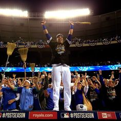 The Kansas City Royals sweep the Angels in three games. Be Royal!