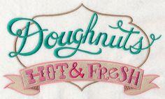Doughnuts - Hot & Fresh