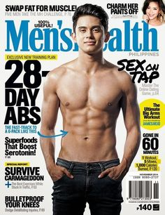 james IG post oct 28 2014 On the cover of menshealthph's November issue thankyou irishdizon for writing the cover story. Not many people know this side of me so thanks for listening Big Arm Workout, Asian Men Fashion, Movie Talk, Hot Asian Men, James Reid, Asian Hotties, Training Plan, Hopeless Romantic, Man Alive