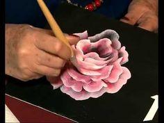 Como hacer efectos Imitacion Madera con Gesso - Decoralba -Stenciles - Moni Dominguez - YouTube