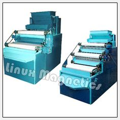 Roller Type Magnetic Separator Roller Type Magnetic Separator are designed to remove micro iron or para-magnetic material from mineral and ceramic raw material,.
