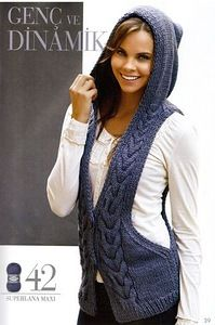 Weebly - Website Creation Made Easy Sleeveless Jacket, Knit Fashion, Vest Jacket, Fitness Inspiration, Looks Great, What To Wear, Knit Crochet, Knitting, Stylish