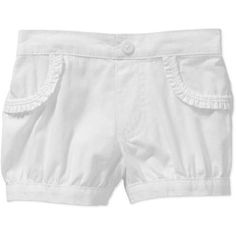 Garanimals Newborn Baby Girl Solid Woven Bubble Shorts - Walmart.com