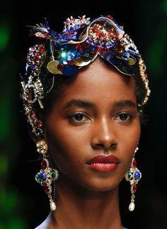 Tami Williams for Dolce & Gabbana SS17