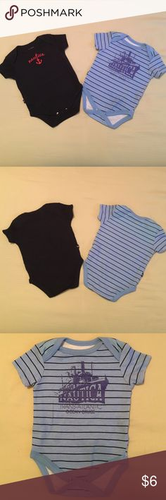 Nautica 3/6 Onesie ❤️ (Final Mark Down) Nautica 3/6 Onesie ❤️ Worn but in excellent condition ❤️ All funds are going towards nursing school 💉👸🏼👶🏽📚📝 Thank you for your support ❤️ Any items that are $8 and below are final and the price is firm, please take into consideration that Posh does charge a sellers fee per item, Thank you ❤️ Nautica One Pieces Bodysuits