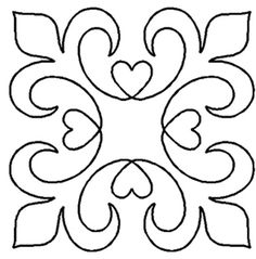 quilting design - or for cardboard projects