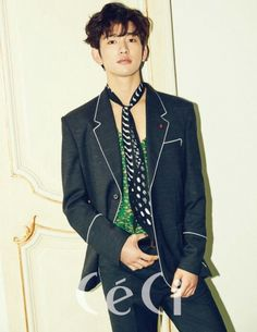 Jinyoung GOT7 for Ceci Magazine
