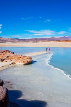 Who knew Chile was so beautiful? The landscapes around San Pedro de Atacama are absolutely breathtaking. My favorites: Piedras Rojas (Red Stones) and Salar de Atacama (Atacama Salt Flats) Photo: Red Stones Click the post for more information. South America Destinations, South America Travel, Holiday Destinations, Travel Destinations, Visit Chile, Titicaca, Nature Photos, Adventure Travel, Places To See