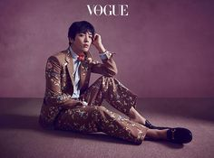 Jung Yonghwa Is Into 'Heavy Petal' for Vogue Korea | Couch Kimchi