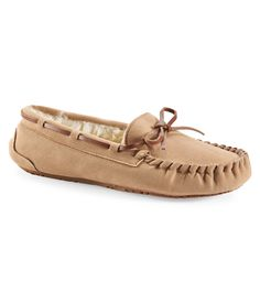 Faux Suede Fur-Lined Moccasin - Aeropostale Size 9