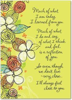 Poetic Garden - Mother's Day Greeting Cards - Hallmark - Margarita - Green : Front