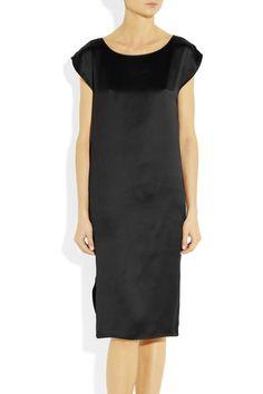 Yves Saint Laurent|Silk-satin dress|£480 (50%off) at NET-A-PORTER.COM