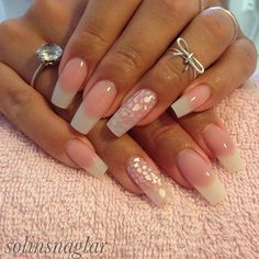 Diva Nails, Glam Nails, Fancy Nails, Trendy Nails, Beauty Nails, Sexy Nails, Hot Nails, Hair And Nails, French Manicure Nails