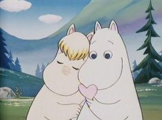 Moomin's Love <3. I loved this as a child during my family's tenure in Japan!  Memory is sweet!