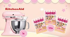 111 Tester für HARIBO Little Cupcakes