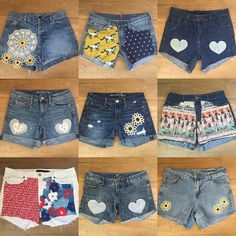 """Now through Friday (9/30), get 50% off on all shorts when you use coupon code """"SHORTS50"""" at etsy checkout! No limit, so stock up for next year!"""