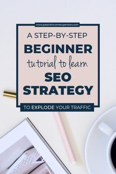 A Super Simple Beginners Guide to SEO - Passive Income Superstars - SEO Marketing is so important in your business! Here is tips & tricks to learn the basic SEO! Seo Marketing, Digital Marketing Strategy, Internet Marketing, Affiliate Marketing, Content Marketing, Search Engine Marketing, Marketing Strategies, Wordpress For Beginners, Seo For Beginners