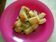 La meilleure recette de Fenouil braisé! L'essayer, c'est l'adopter! 4.9/5 (9 votes), 9 Commentaires. Ingrédients: Bulbes de fenouil, un oignon, un peu de beurre, un peu d'huile d'olive, sel.