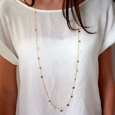 Long Sequins Chain