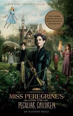 Miss Peregrine's Home for Peculiar Children - When a horrific family tragedy sets sixteen-year-old Jacob journeying to a remote island off the coast of Wales, he discovers the crumbling Miss Peregrine's Home for Peculiar Children.  As Jacob explores the abandoned mansion, he wonders if the children who once lived here—including his own grandfather—were more than just peculiar. They may have been dangerous. They may have been quarantined on a desolate island for good reason.