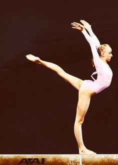 I think Nastia could be a ballet dancer if she wanted to.
