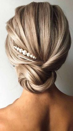 Wedding Hairstyles For Long Hair, Elegant Wedding Hairstyles, Bridesmaid Updo Hairstyles, Homecoming Hairstyles, Beautiful Hairstyles, Wedding Hairdos, Long Hair Updos, Straight Hair Updo, Mother Of The Groom Hairstyles