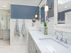The best bathroom paint colors - Storm Cloud