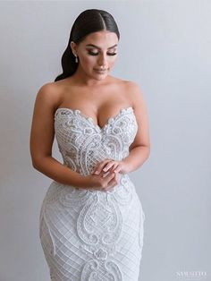 Norma And Lili Bridal Couture Wedding Dress Dream Wedding Dresses, Bridal Dresses, Bridesmaid Dresses, Wedding Goals, Wedding Attire, Wedding Hair, Dream Dress, Perfect Wedding, Wedding Styles