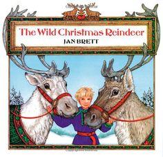 The Wild Christmas Reindeer by Jan Brett: #Books #Kids #Christmas