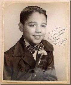 Sal Mineo as a young boy